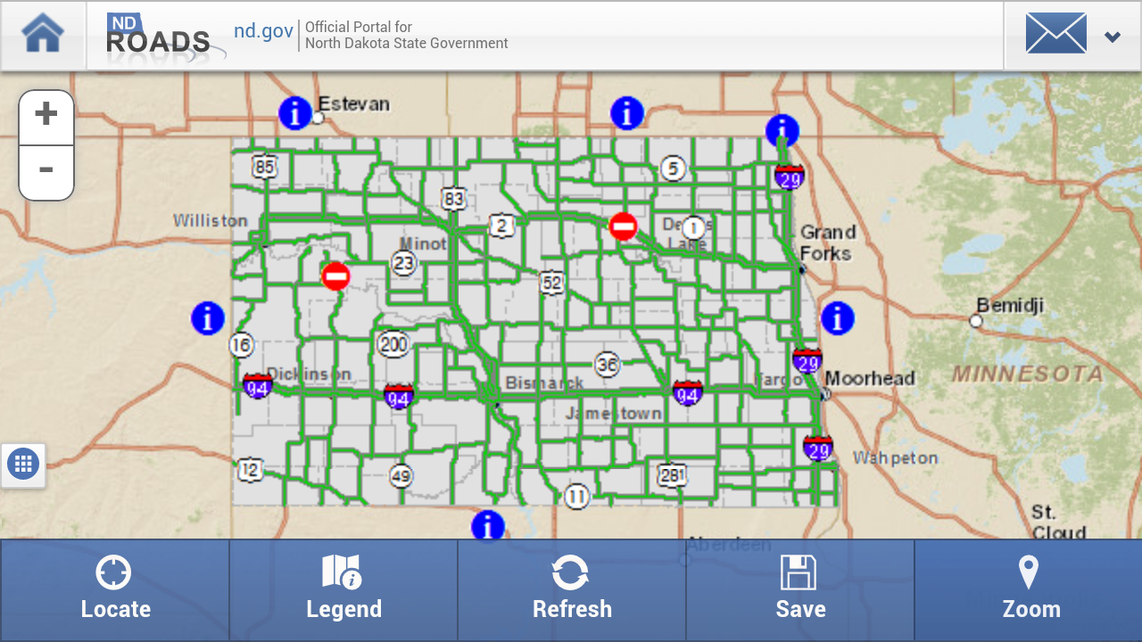 ND Roads (North Dakota Travel) - screenshot