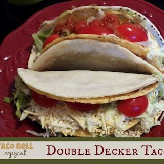 Taco Bell Double Decker Taco Copycat