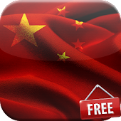 Flag of China Live Wallpaper