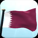 Katar Flagge 3D Kostenlos icon