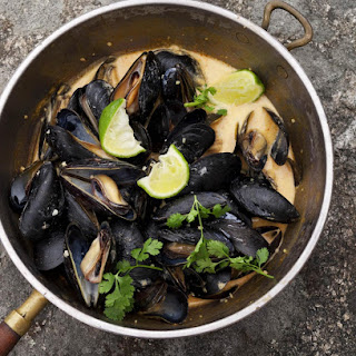 Malaysian-Style Mussels.