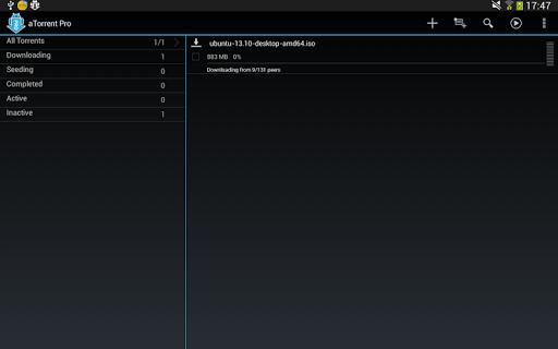 玩免費工具APP|下載aTorrent PRO  - 激流應用 app不用錢|硬是要APP