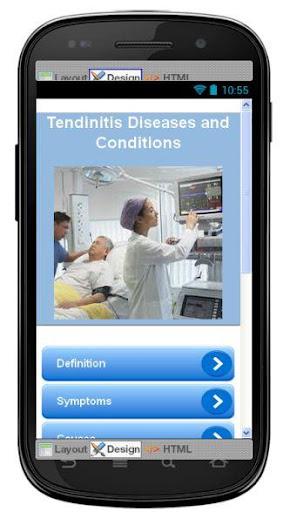 Tendinitis Disease Symptoms