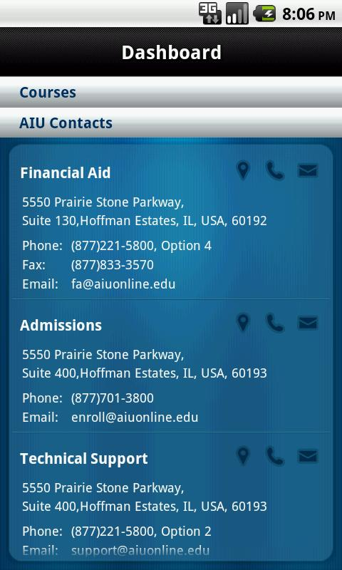 AIU Mobile – Phone - screenshot