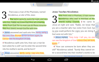 Screenshot of NIV Bible