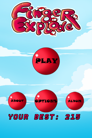 Finger Exploder - screenshot