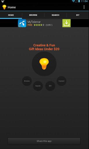 Creative Gift Ideas Under $20