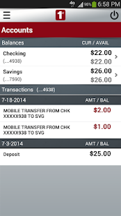 FNB Burleson Mobile Banking - screenshot thumbnail