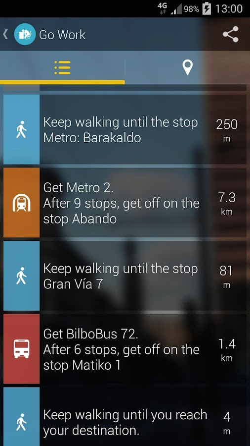 Bilbao Moves:Subway Bus Tram- screenshot