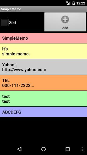 SimpleMemo 1.0.20 Windows u7528 1