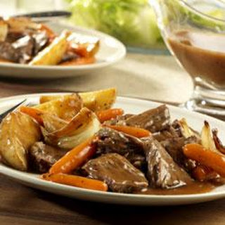 Weekday Pot Roast and Vegetables.