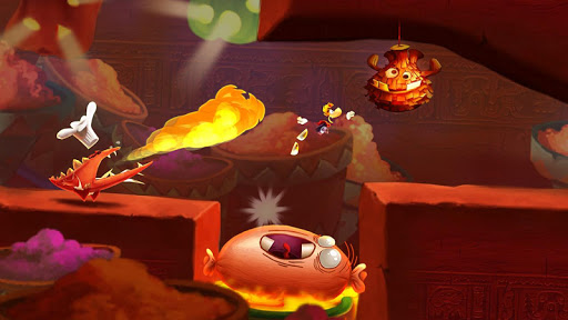 Rayman Fiesta Run screenshot 22