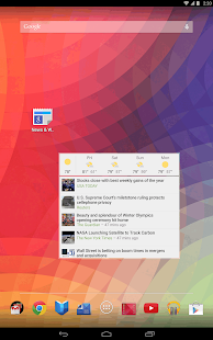 Google News & Weather Screenshot 12
