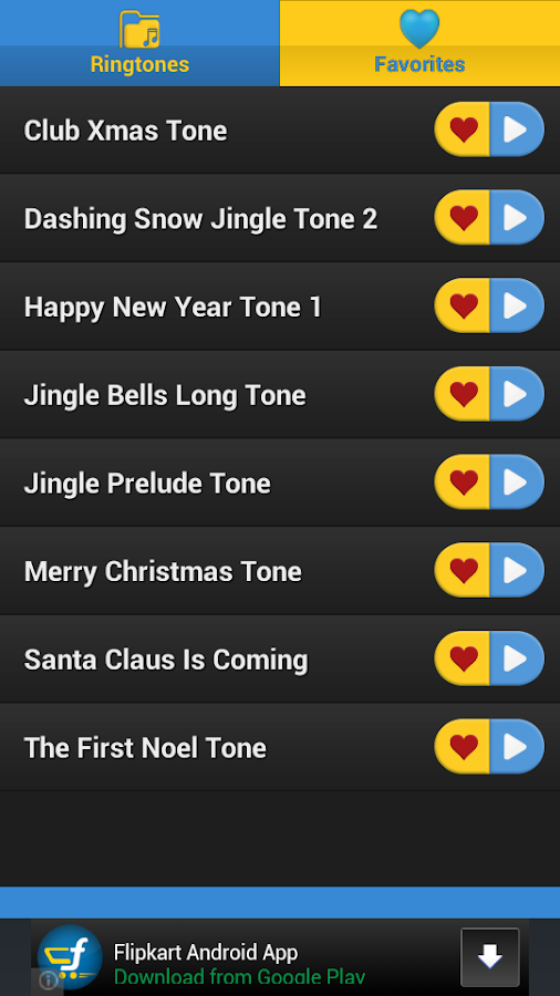 Christmas RingTones Part 2 - screenshot