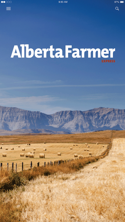 Alberta Farmer Express- screenshot