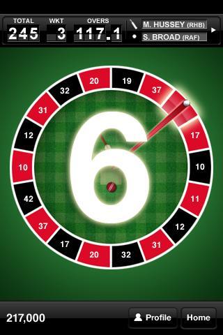 Roulette Cricket- screenshot