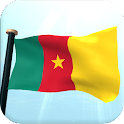 Cameroon Flag 3D Wallpaper icon