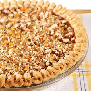 Pumpkin Pecan-Praline Pie