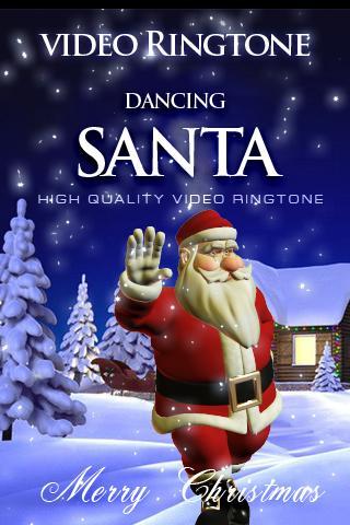DANCING SANTA video ringtone