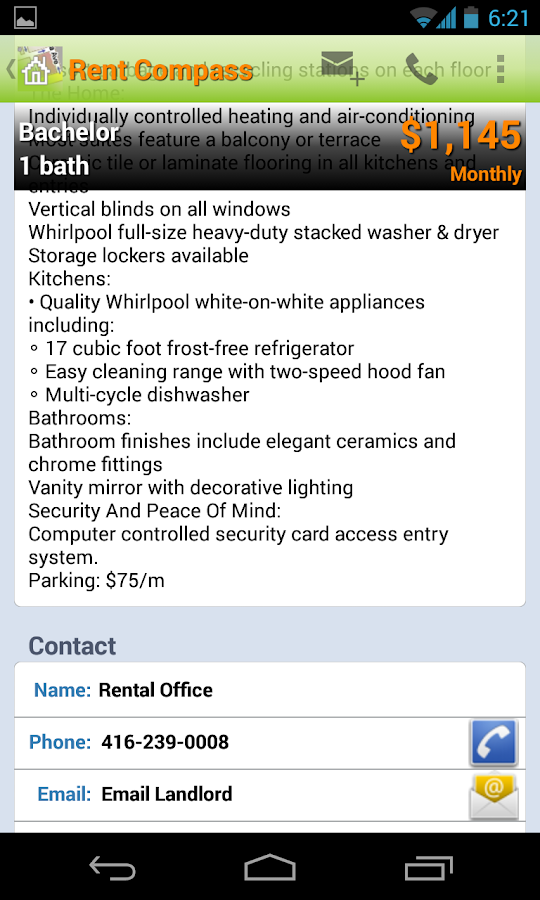 Apartment Rentals in Canada- screenshot