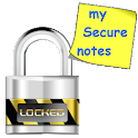 my Secure Notes -notas seguras icon