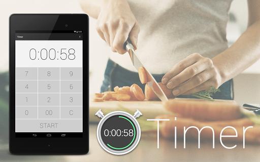 定时器 - 厨房定时器和秒表简单