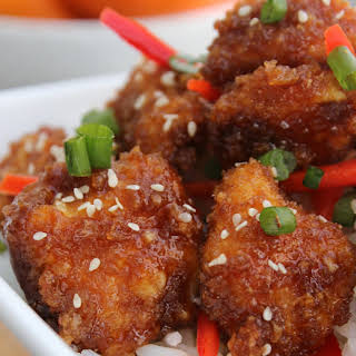 Baked Orange Chicken.
