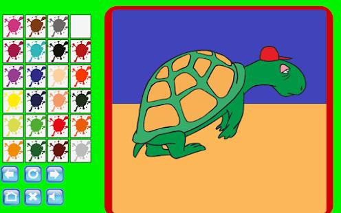 Kid Coloring Game Screenshot Thumbnail