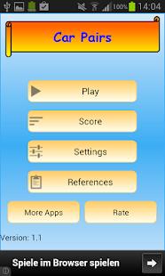 玩紙牌App|Car Pairs免費|APP試玩