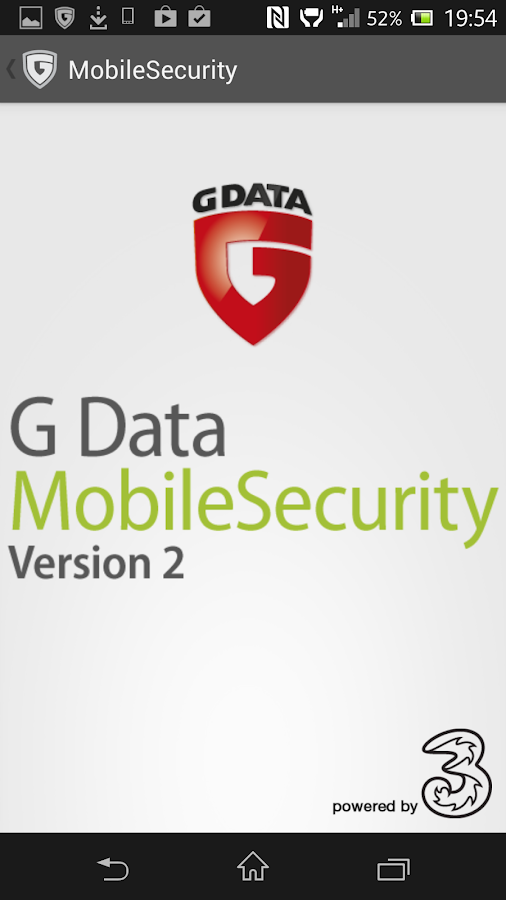 G Data - screenshot
