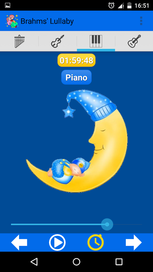 Brahms' Lullaby - screenshot