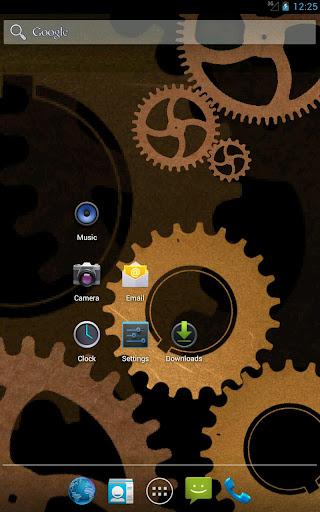 Steampunk Gears Wallpaper Free