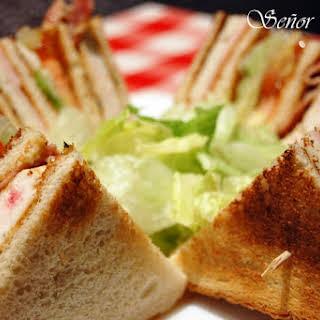VIP Club Sandwich.