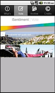 iSentiment- screenshot thumbnail