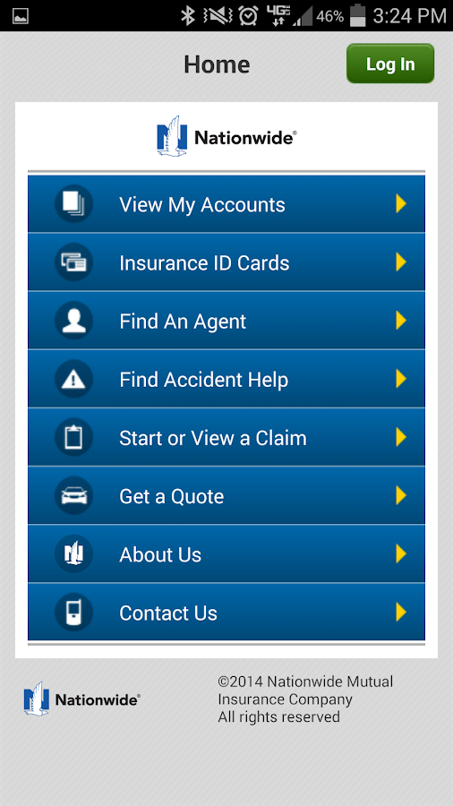 Nationwide Mobile - screenshot