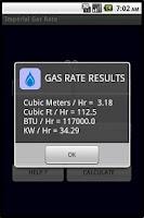 Screenshot of GAS RATE CALCULATOR (PRO)