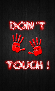 Dont Touch My Phone Wallpaper Free Android App Market