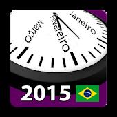 Brasil Calendário 2015 NoAds