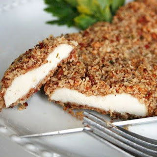 Pecan Crusted Chicken with Bacon