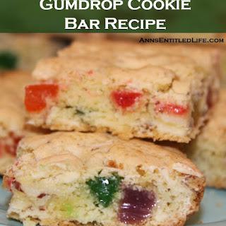 Gumdrop Cookie Bar