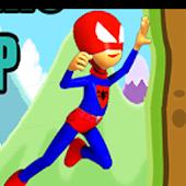 Spider hero jump game