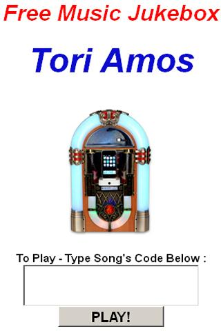 Tori Amos Jukebox - screenshot