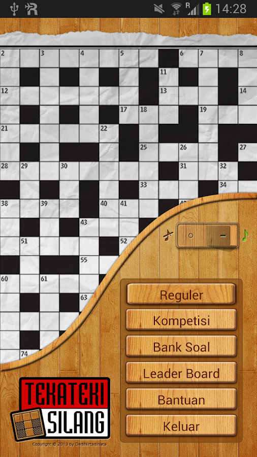 Teka Teki Silang - screenshot