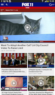 FOX 11 Los Angeles- screenshot thumbnail