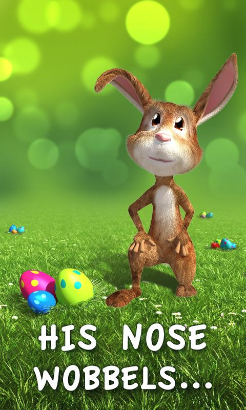Easter Bunny Live Wallpaper- screenshot