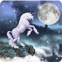 Magic Effect:Unicorn and Moon icon