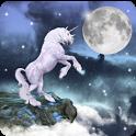 Magic Effect:Unicorn and Moon icon