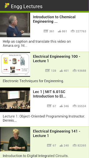 Engineering Lectures
