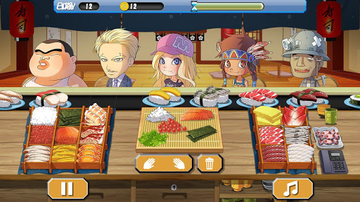 Sushi House - cooking master  screenshots 8
