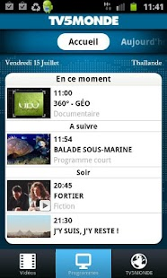TV5MONDE - screenshot thumbnail